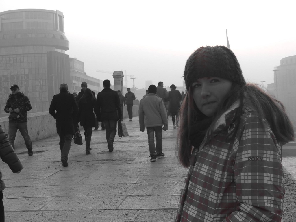 macedonia skopje bridge black and white cold lindsay does languages blog