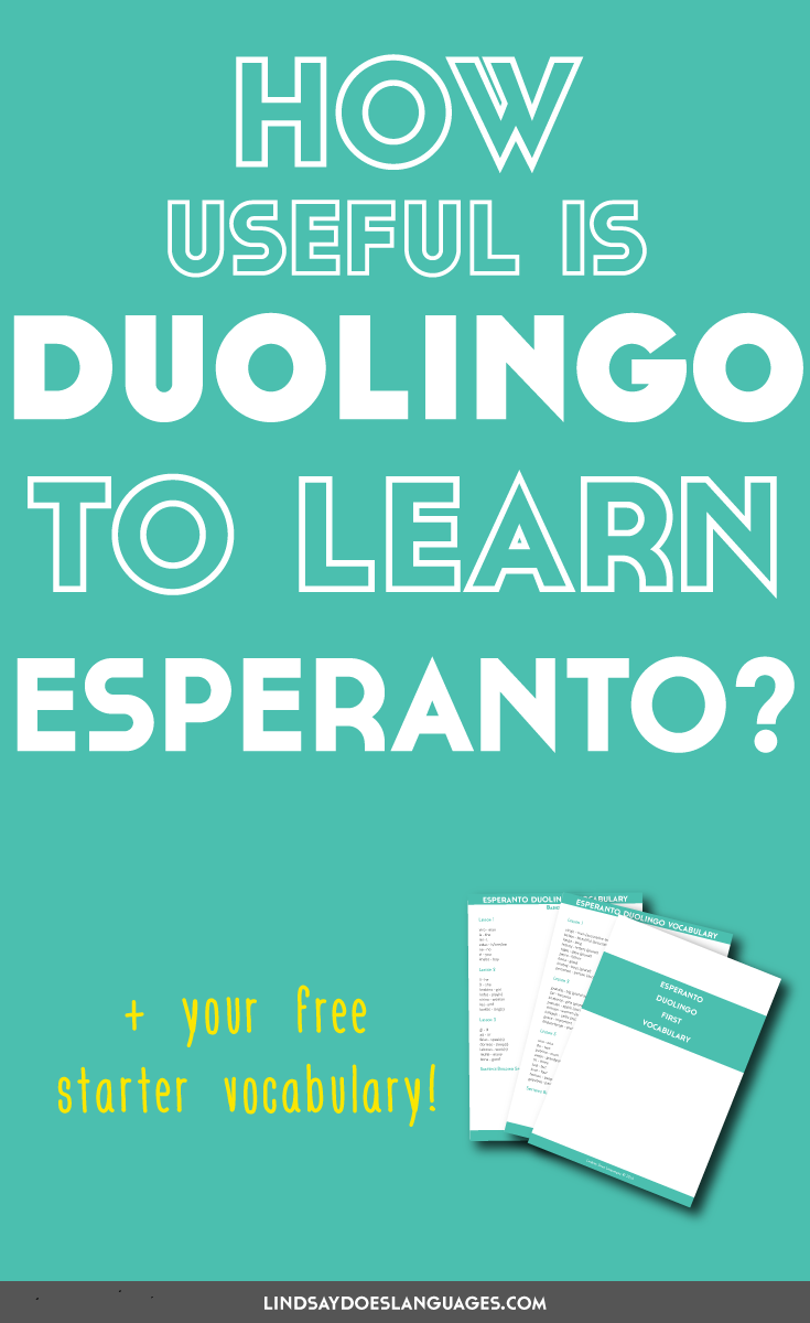 How to Learn Esperanto pictures