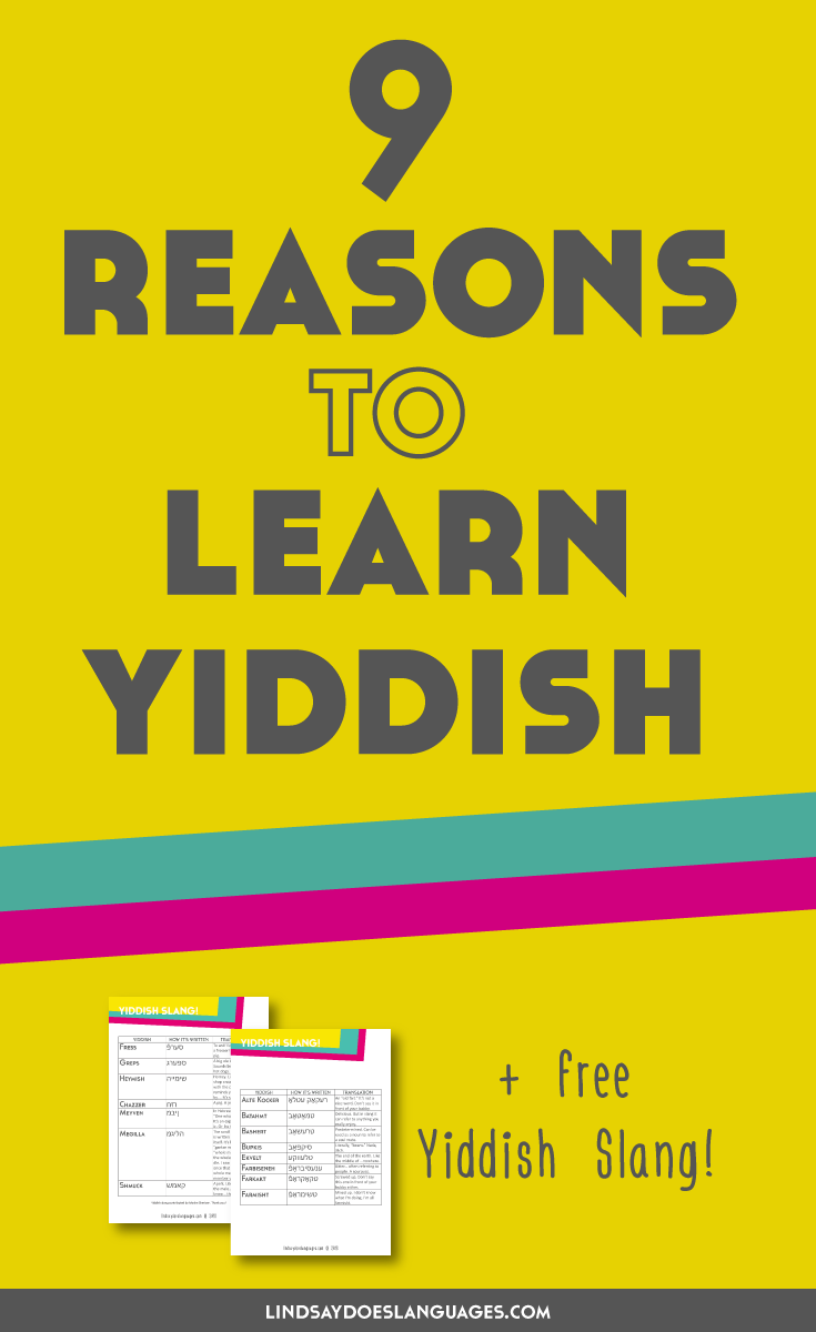 How to Learn Yiddish recommendations
