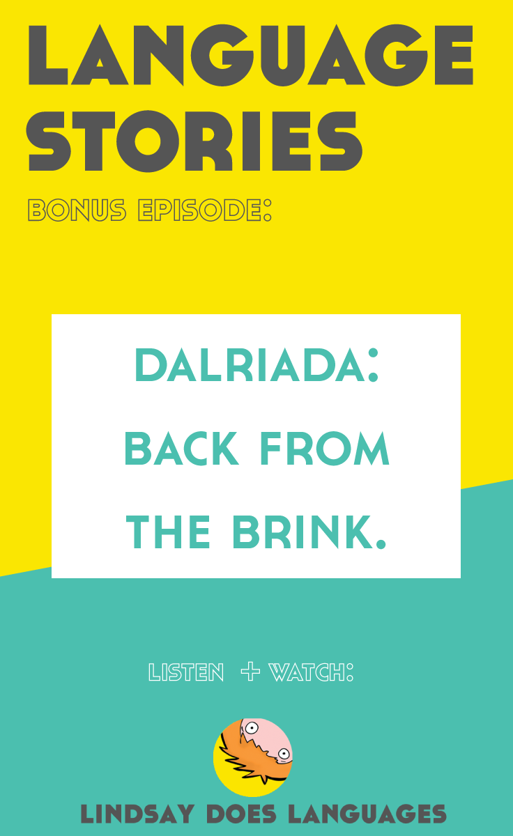 Just a few years ago, Dalriada Gaelic was a dialect of Scottish Gaelic with only one fluent speaker. That was until Àdhamh Ó Broin took it upon himself to bring the dialect back from the brink. Click through to listen and watch this inspiring story.