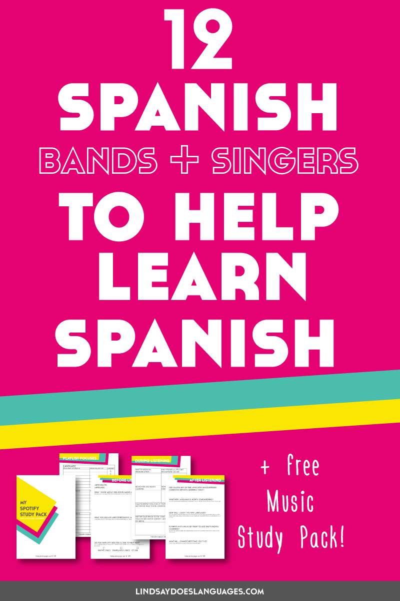 12 Spanish Bands and Singers to Learn Spanish (If You Hate